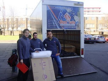 Reliable moving company in London