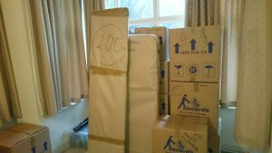 Moving house in London