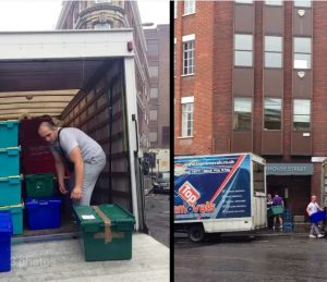 the 200th Office Move in London