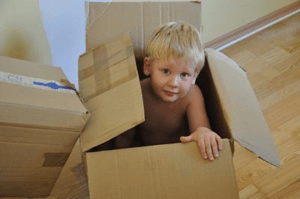 House removal with kids