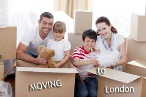 House Moving to London