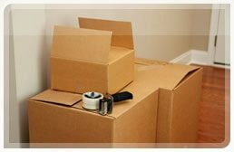 Packing materials for your move in London