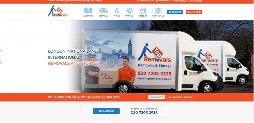 Top Removals London