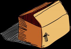 House moving survival kit box