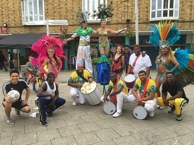 Carnival artists from London