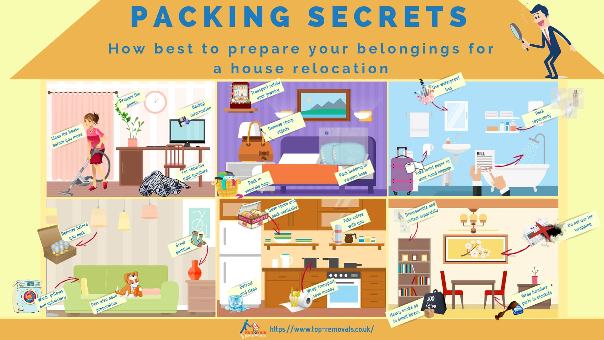 Packing secrets from London's expert movers