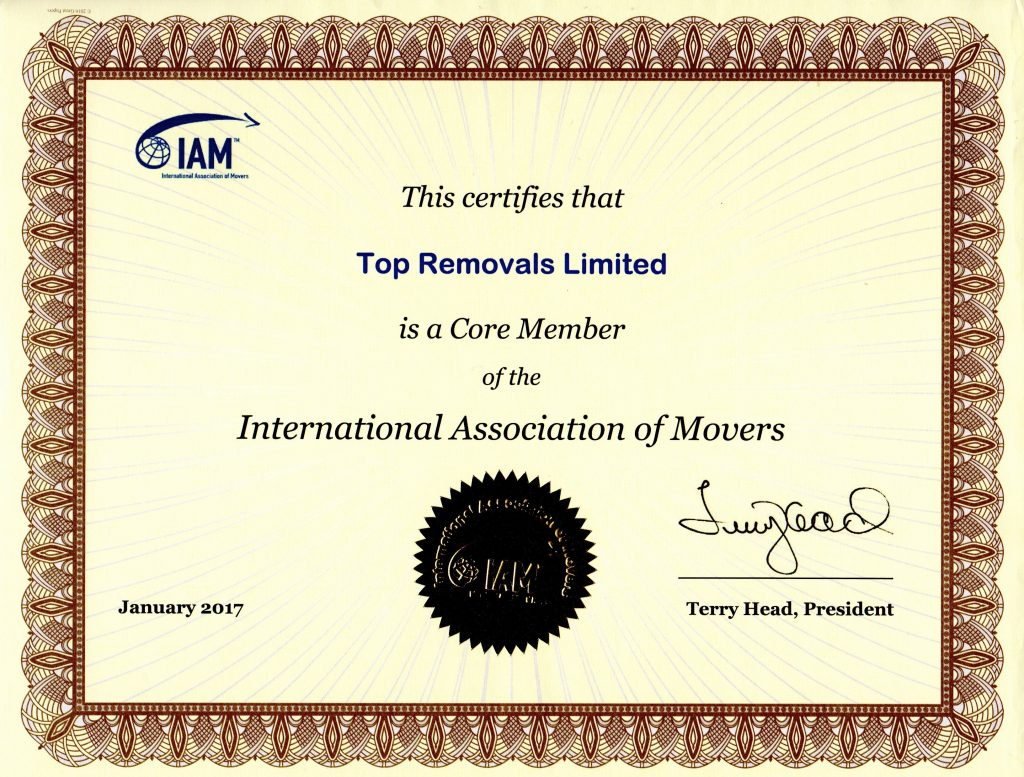 IAM Certificate Top Removals
