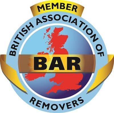 Top Removals is a part of BAR, BAR logo