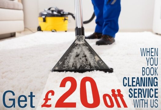 Get £20 off when you book cleaning service with Top Removals