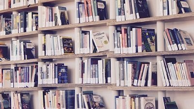 books in a London house