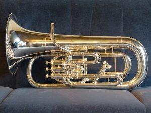 euphonium in a London home