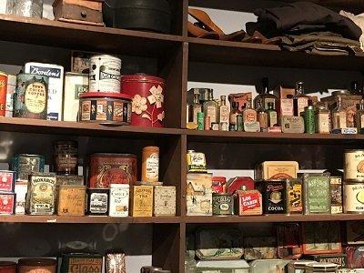 storage shelves in London
