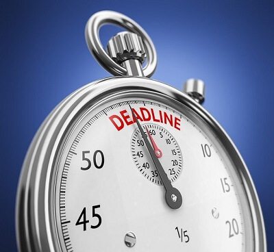 deadline for a home move