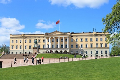 King's palace in Oslo